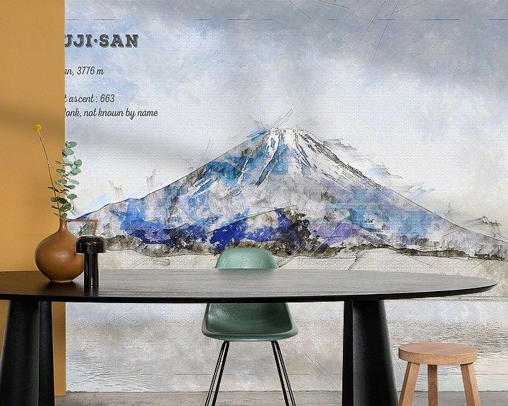 Beispiel fototapete: Fuji, Japan von Theodor Decker