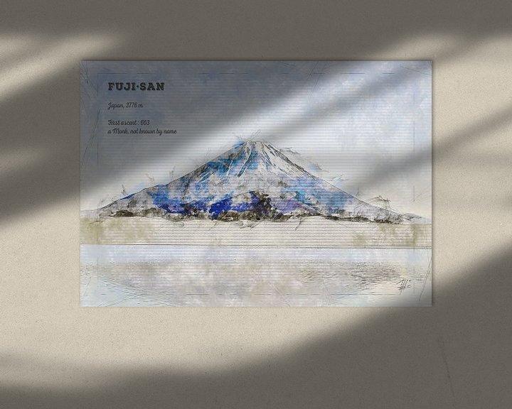 Beispiel: Fuji, Japan von Theodor Decker