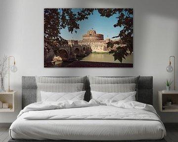 Engelsburg in Rom von Tom Bennink