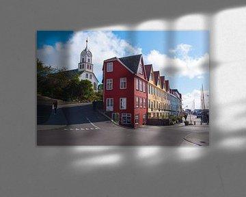 Torshavn, capitale des Féroé sur Robin van Maanen