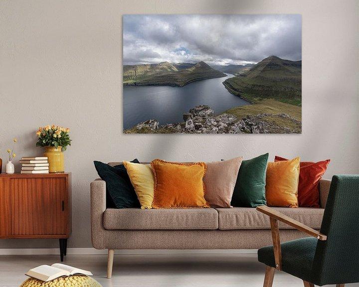 Impression: Fjord des îles Féroé sur Robin van Maanen