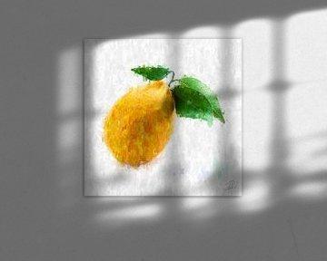 Zitrone von Theodor Decker