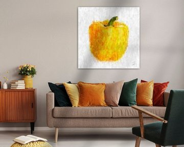 Gelbe Paprika von Theodor Decker