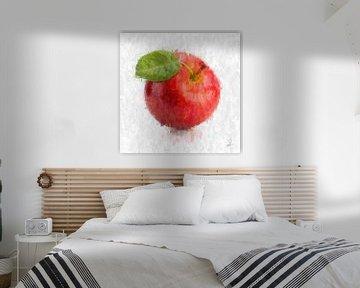 Roter Apfel von Theodor Decker