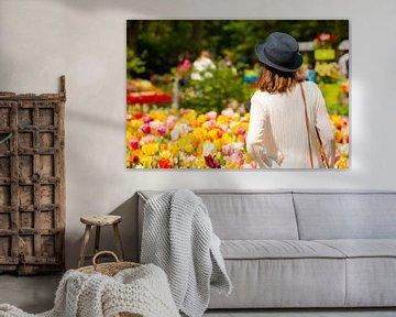 Tulpen im Keukenhof Holland. von Brian Morgan