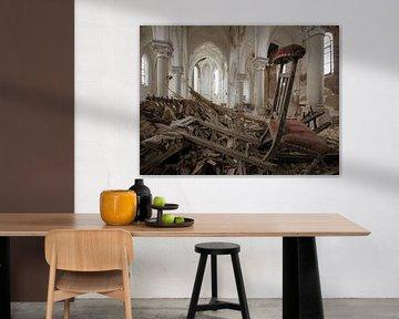 Kirche im Verfall von Olivier Photography