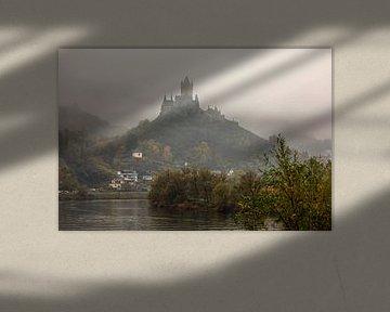 Reichsburg vanaf de Moezel gezien van gea strucks