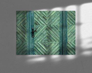 Grüne Tür von Caroline Lichthart