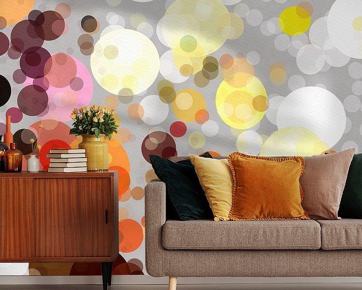 Beispiel fototapete: Dots von Andreas Wemmje