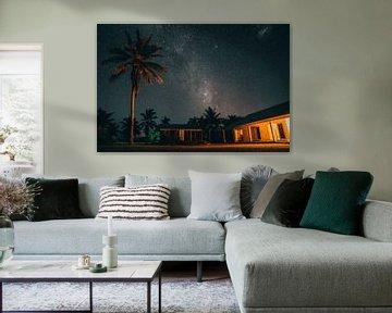 Galaxie in Aitutaki, Cook-Inseln von Jaco Pattikawa