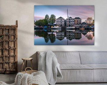 Alter Hafen von Gouda von Ilya Korzelius