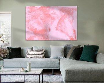 Freesien in Eis Rosa von Marc Heiligenstein