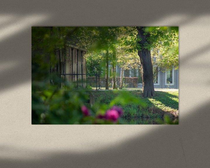 Beispiel: In der Nähe des Gebäudes von Schloss Bouvigne Breda von Kuifje-fotografie