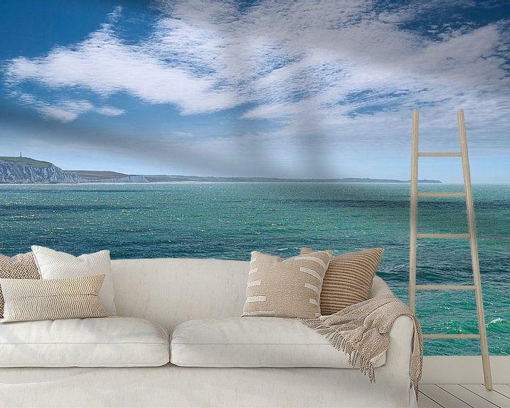 Sfeerimpressie behang: 0453 Cap Blanc-Nez van Adrien Hendrickx