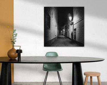 Maastricht - Blik in de Lantaarnstraat van Teun Ruijters