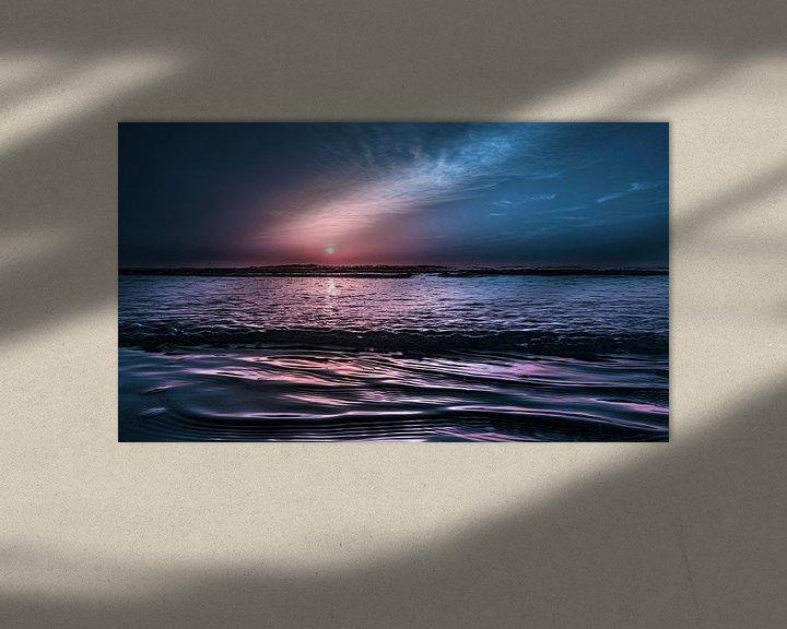 Sfeerimpressie: 2905 Evening in July van Adrien Hendrickx