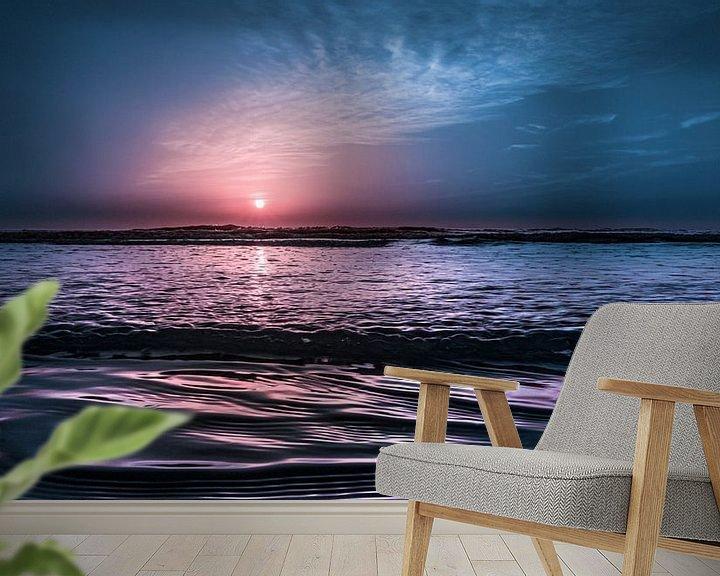 Sfeerimpressie behang: 2905 Evening in July van Adrien Hendrickx