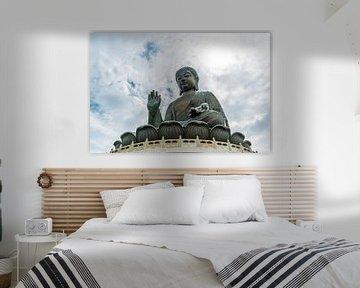 Tian Tan Buddha in Hong Kong van Mickéle Godderis