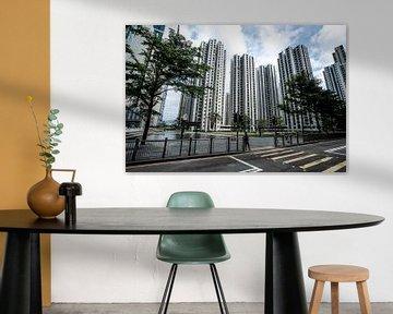 Appartementen en bedrijven in Hong Kong van Mickéle Godderis