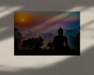 Buddha Sunrise van Geert Schuite