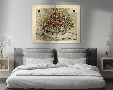 Arnhem, Kaart 1652 van Atelier Liesjes