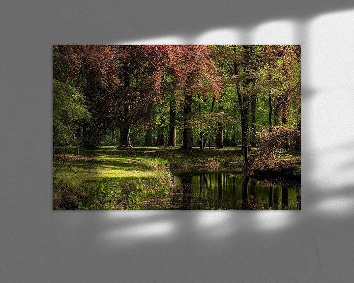 Beispiel: Waldansicht von Ingrid Aanen