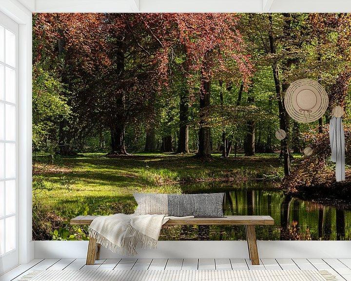 Beispiel fototapete: Waldansicht von Ingrid Aanen