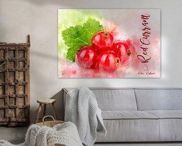 Rote Johannisbeeren von Theodor Decker