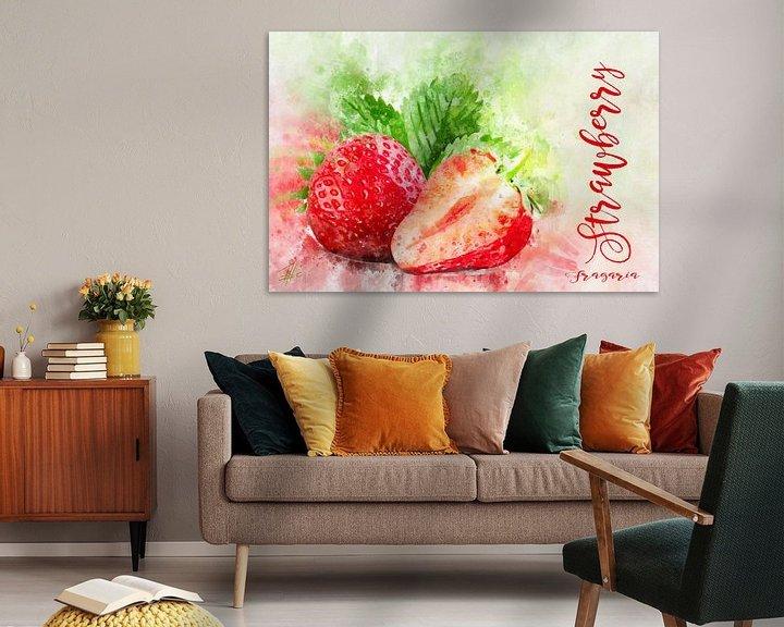Beispiel: Erdbeeren von Theodor Decker