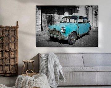 Austin Mini sur Rene van Heerdt