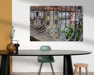 Vues de maisons à Porto sur Jessica Arends