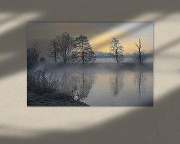 Winter in het Ruhrgebied van Bernhard Kaiser
