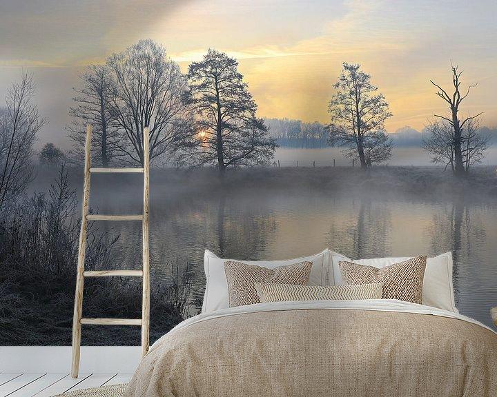 Sfeerimpressie behang: Winter in het Ruhrgebied van Bernhard Kaiser