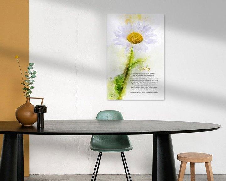 Beispiel: Gänseblümchen von Theodor Decker