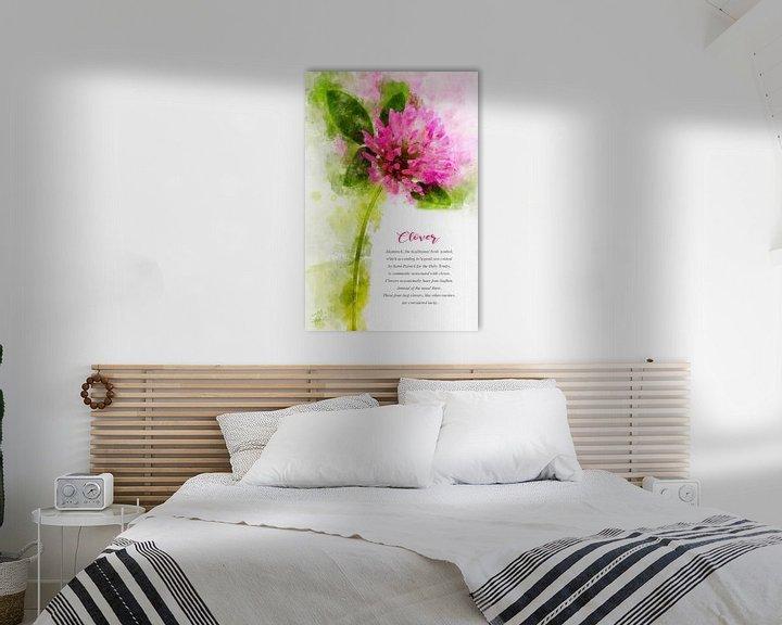 Beispiel: Kleeblume von Theodor Decker