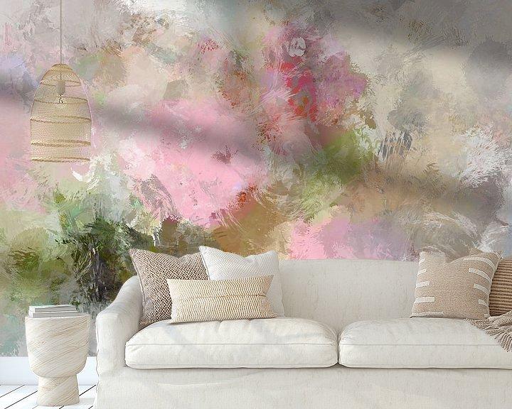 Beispiel fototapete: abstract flowers von Andreas Wemmje