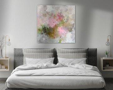 abstracte bloemen van Andreas Wemmje