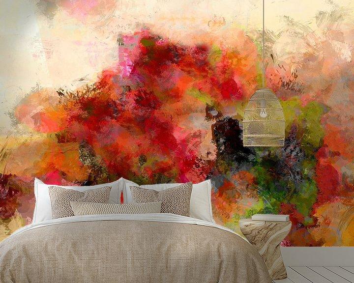 Beispiel fototapete: Still life wwith flowers von Andreas Wemmje