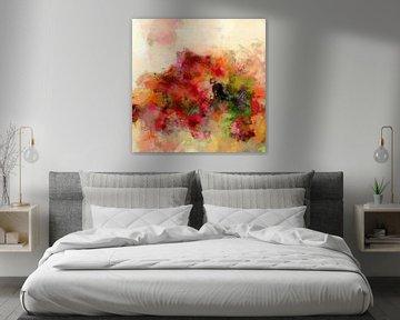 Stilleven met bloemen van Andreas Wemmje