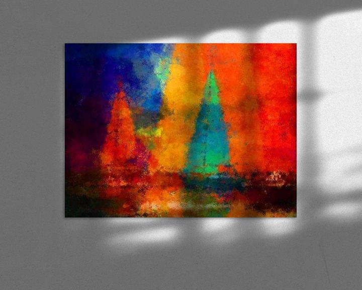 Beispiel: abstract sailing von Andreas Wemmje