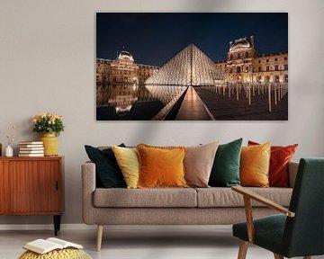 Museum het Louvre, Parijs van Michael Fousert