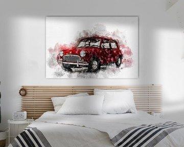 Austin Mini Seven von Theodor Decker