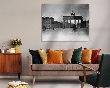Berlin, Pariser Platz und Brandenburger Tor, 1900 von Atelier Liesjes