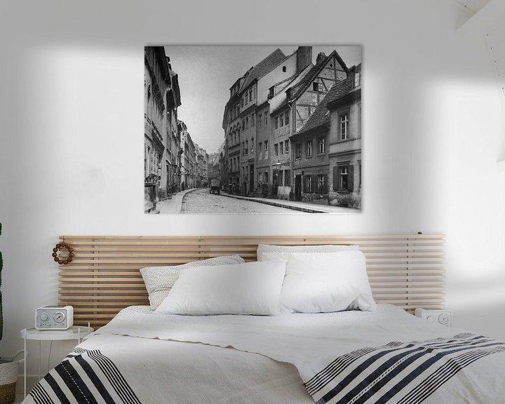 Sfeerimpressie: Berlijn, Petristraße, 1880 van Atelier Liesjes
