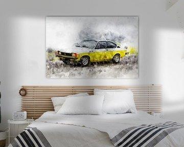 Opel Kadett GTE von Theodor Decker