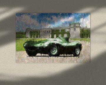 Jaguar D-Type von Theodor Decker
