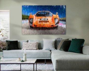 Porsche 906 0range von Theodor Decker