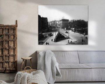 Berlijn, Potsdamer Brücke, 1900 van Atelier Liesjes