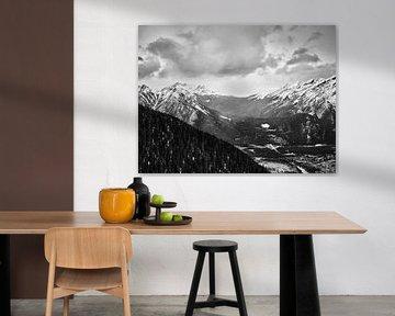 Mount Norquay und Cascade Mountain über Banff von Graham Forrester