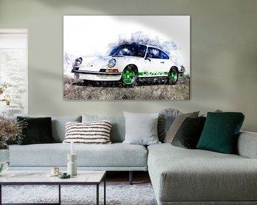porsche Carrera RS von Theodor Decker